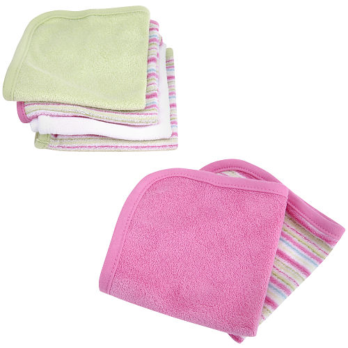 Carter's 6-pack wash cloths