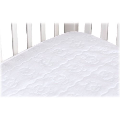 Continental Quilting Ultra Soft Crib Quilted Mattress Pad