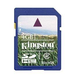 Kingston 4GB Digital Flash Memory Card